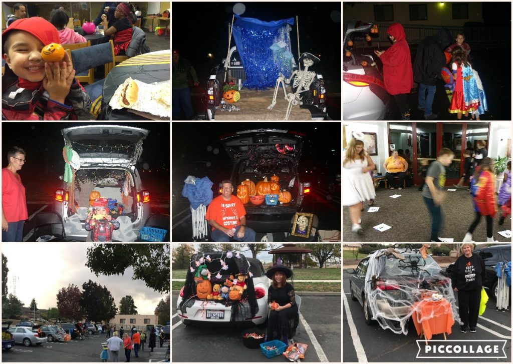 Trunk or Treat Collage 2016